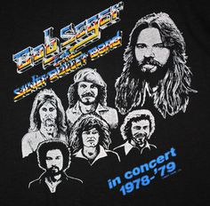 Bob Seger & The Silver Bullet Band Vintage T-Shirt https://www.facebook.com/FromTheWaybackMachine/