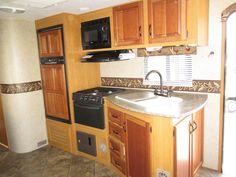 Used 2013 KZ Spree 280RLS Travel Trailer at RV Country | Fresno, CA | #25765A Caravan, End Tables, Living Area, Rv, Kitchen Cabinets, Lounge, Country, Travel, Home Decor