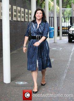 Kirstie Allsopp leaving the GMTV studios London, England...