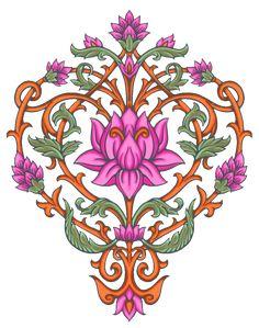 Border Design, My Design, Paisley Art, Tie Dye Crafts, Vintage Borders, Baroque Design, Botanical Flowers, Future Fashion, Pattern Art