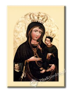 Matka Boska Pocieszenia obraz :: DlaKsiedza.pl Mona Lisa, Artwork, Work Of Art, Auguste Rodin Artwork