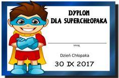 dzień chłopaka - medale i dyplomy