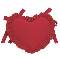 COUSSIN CŒUR ROUGE - Copyright Interior's France Interior S, Decoration, Coding, Copyright, France, Wood Furniture, Linens, Heart Cushion, Red Hearts