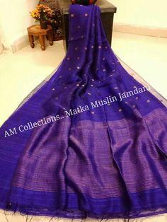 ❣ *Fresh Arrival* ❣ *Very Gorgeous Half and Half Matka Muslin Saree with Jamdani Buti* Price:5999 Order what's app 7995736811