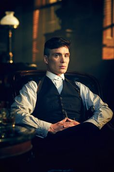 Cillian Murphy in The Peaky Blinders.