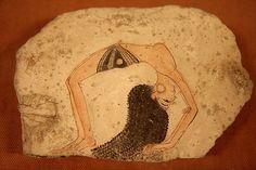 .... · A · K · ....: Ostraca egipcios