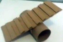 Cardboard-Roll-Hamster-See-saw