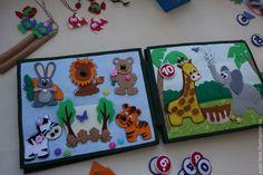 """Купить Развивающая книжка """"Зоопарк"""" - разноцветный, развивающая игрушка, книжка…"""