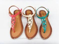 sandalias sencillas