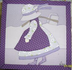 Carton Mousse - Patchwork Incrusté ( Embutido) by Daniella Andréa Lima, via Flickr