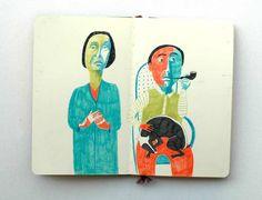 """Art Journal: Jenny Meilihove: """"Couple"""""""