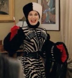 """Glenn Close as Cruella De'Vil, """"101 Dalmatians"""" (1996)."""