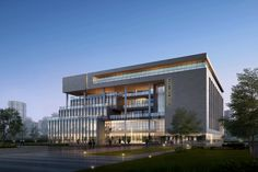 Concept Design of Individual Building as a tobacco company office building in Tongshan District, Xuzhou City