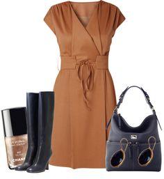 """""""Wrap Dress #2"""" by ljjenness on Polyvore"""