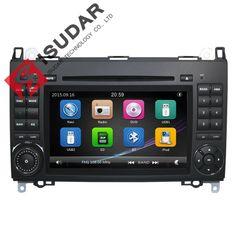 Big sale US $218.80  2 Din 7 Inch Car DVD Player For Mercedes/Benz/Sprinter/W209/W169/W245/Viano/Vito/B-Class/B150/B170/B200/A160/A180  FM GPS Radio