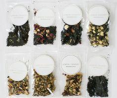 TEA SAMPLES  A beautiful sample set of our 8 delicious teas.  http://lemoncanary.com.au