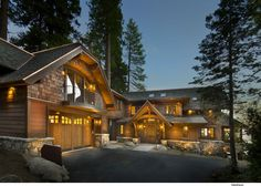 Lake Tahoe residence by Ward-Young Architecture & Planning.
