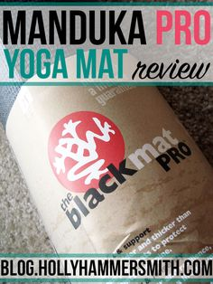 Manduka Black Mat PRO: I've used the Manduka Black Mat PRO yoga mat for yoga practice for 7 years. It's a large mat with extra padding perfect for joint support. Here's my review. Bikram Yoga, Vinyasa Yoga, Large Mats, Yoga Anatomy, Fit Board Workouts, Yoga Accessories, Yoga Quotes, Hot Yoga, Work From Home Moms