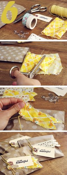 24 Gift Wrap Ideas- you'd think I'd be an expert at these things given my…