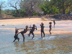 boys having fun at Lake Malawi http://www.trailheadstudios.com/blog.html