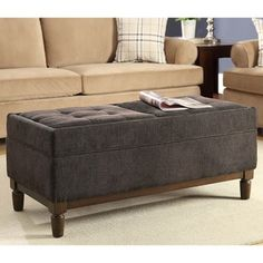 Shop for Convenience Concepts Designs4Comfort Sutton Place Ottoman. Get free shipping at Overstock.com - Your Online Furniture Outlet Store! Get 5% in rewards with Club O!