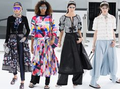 Chanel Spring/Summer 2016 Collection  #chanel #runway #fashion
