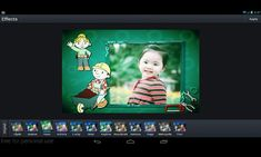 Baby Frames Part1 is a collection of more than 1000 photo frames for you to decorating your lovely photos.<p>Everything your users need to create amazing photos. <p>A complete set of photo editing tools<p>Enhance<br> Choose from three preset enhancement options to improve photos with one tap. Hi-Def intelligently sharpens and defines; Illuminate fixes poor lighting issues; and Color Fix performs amazing color correction.<br> <br>Effects<br> Enable your users to quickly achieve professional…