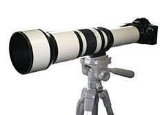 Vivitar Telephoto Lens (White) with Teleconverter Kit for Canon EOS Rebel Mark II III Cameras + 72 Inch Monopod Bundle, Yellow Photo Accessories, Camera Accessories, Iphone 5s, Nikon, Photography Tips, Nature Photography, Lens Store, Digital Camera Lens, Telephoto Zoom Lens