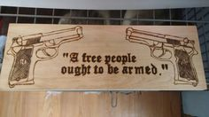 Wood burn your own sign. Stain it & clear coat it.