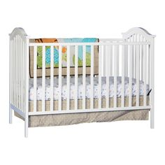 The storkcraft Hampton 2-in-1 convertible crib is a safe and comfortable bed for your child. This convertible crib is constructed from manufactured wood, which makes it robust and ensures durability. It is available in multiple finishes, letting you choose the one that best suits your child's room. The convertible crib features adjustable mattress heights and can be easily converted into a daybed. This Hampton 2-in-1 convertible crib from storkcraft is CPSIA or CPSC compliant, which makes...