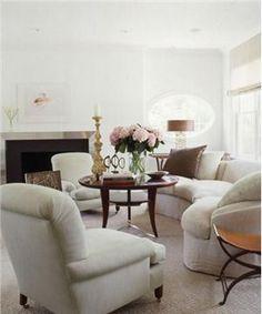 Contemporary (Modern, Retro) Living Room by Vicente Wolf Associates
