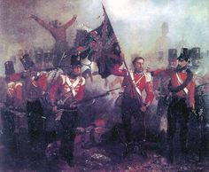 Sergeant Luke O'Connor of the Royal Welch Fusiliers winning his VC and the Battle of the Alma.