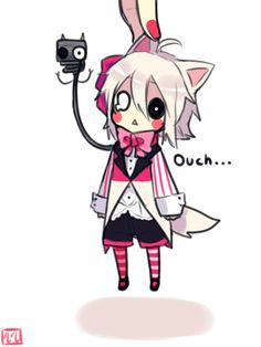 Mangle...but why the fuck is that person holding Mangle like that...? Fucking retard that's not how you hold the lil cutie like that!!!