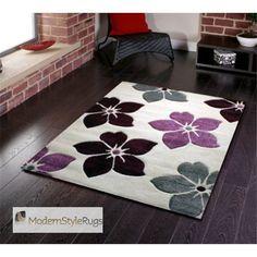 Modern Design Striped Rug Runner Red Green Purple Grey in Various sizes Carpet Diy Carpet, Beige Carpet, Rugs On Carpet, Cheap Carpet, Modern Rugs Uk, Modern Carpet, Cream Bedroom Furniture, Furniture Decor, Furniture Stores