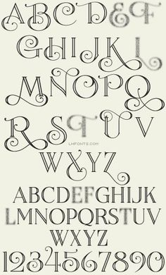LHF Encore™: Lovers of beautiful calligraphy and type will especially appreciate this elegant font family. LHF Encore lends itself to designs requiring a formal or professional appearance. With expertly balanced letters, Encore is perfect for creatin