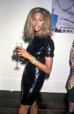 Naomi Campbell, 1990.
