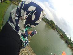 Floating market lake