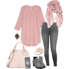 Pink morning- plus size