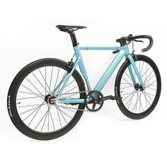 91f8f3c3a 700C Aluminum Fixed Gear Single-Speed Fixie Urban Track Bike Bullhorn  Handlebar Feb 13