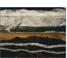 [][][] John Pfahl, Altered Landscapes. Wave, Lave, Lace, Pescadero Beach, California (March 1978)