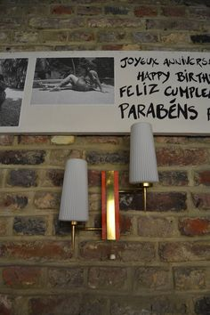 Applique 50's Fifties Style, Fifties Fashion, Happy Birth, Sconces, Applique, Wall Lights, Lighting, Home Decor, Happy