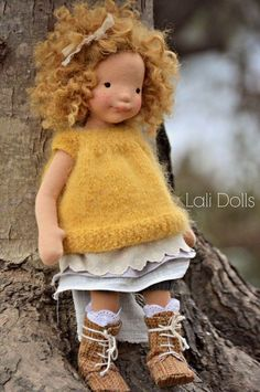 Knitted Dolls, Crochet Dolls, Doll Toys, Baby Dolls, Doll Carrier, Homemade Dolls, Sewing Dolls, Doll Tutorial, Waldorf Dolls