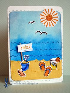Get inspired and be creative.: Relax ....