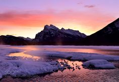 Twilight - Vermillion Lake by shuchun