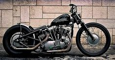 99 Trendy of Bobber Motorcycle in Example Photos - We Otomotive Info Ironhead Sportster, Sportster Chopper, Custom Sportster, Harley Bobber, Custom Bobber, Chopper Bike, Harley Davidson Custom Bike, Harley Davidson Sportster, Bobber Bikes