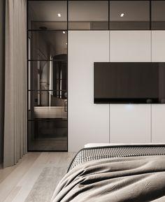 Tv Wall Panel, Indian Bedroom Design, Home Furniture, Furniture Design, Bedroom Tv Wall, Urban Decor, House Design, Interior Design, Behance