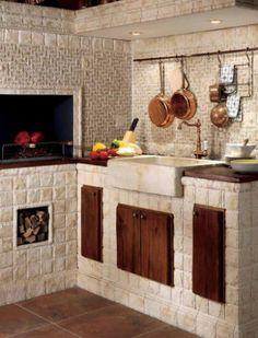 Rustic Italian Home – La Bella Vita Mexican Kitchen Decor, Mexican Kitchens, Kitchen Decor Themes, Home Decor, Rustic Italian Decor, Italian Home, Diy Kitchen Storage, Kitchen Images, Rustic Kitchen