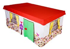 table cubby house - will he making one for the girls!