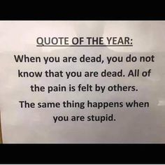 New funny quotes sarcasm hilarious truths thoughts Ideas Sarkastischer Humor, Humor Books, Funny Memes, Jokes, Hilarious Quotes, Funny Senior Quotes, Quotes On Stupid People, Happy Funny Quotes, Funny Yearbook Quotes