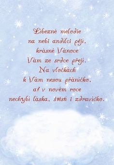 Anděl zpívá - vánoční přání Winter Christmas, Christmas Time, Merry Christmas, Holiday, Christmas Cards, Christmas Ornaments, Christmas Pictures, Happy New Year, Advent